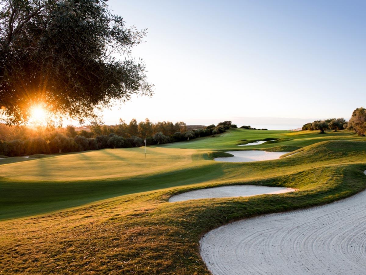 golfing break in spain